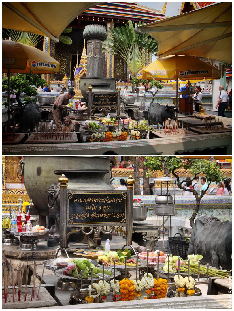 Свечи в Таиланде