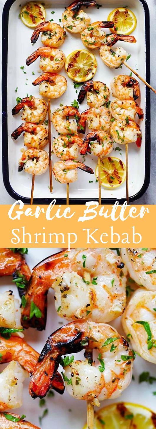 Grilled Shrimp Kebab #shrimp #kebab #dinner #healthyrecipe #food