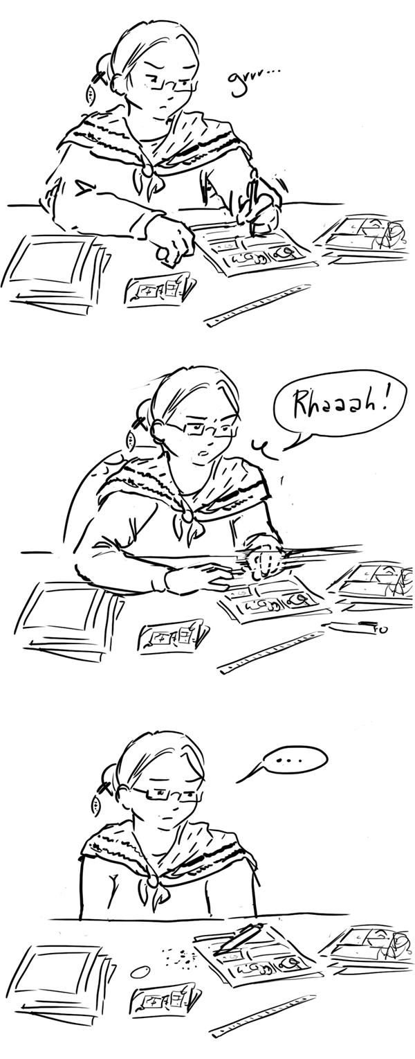 quand on n'arrive pas à dessiner un truc