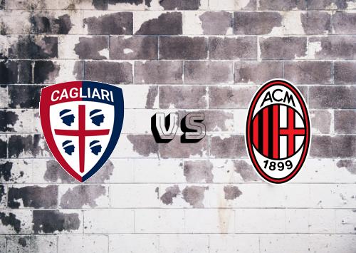 Cagliari vs Milan  Resumen y Partido Completo