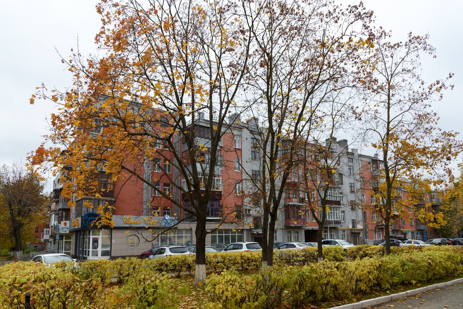 102-х квартирный жилой дом. Иваново. Конструктивизм
