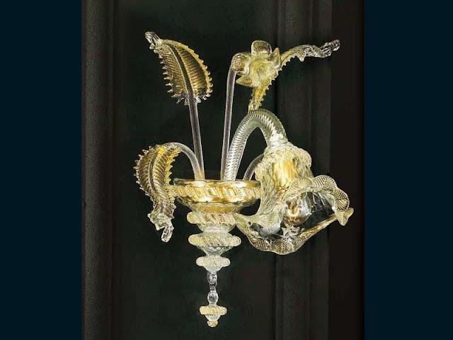 lampadario-da-parete-di-murano-classico-trasparente-con-oro