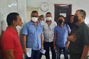 Dirut PD Pasar Manado dr Roland Roeroe, Terima Rombongan Studi Banding PD Pasar Bitung