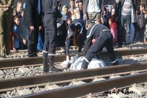 قطار يدهس فتاة ويحولها لأشلاء بحي السلام بالشلف