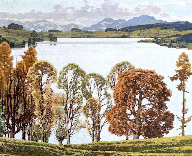 Josef Stoitzner Autumn landscape