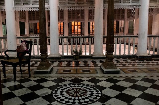 Bari Kothi Chequered Floor