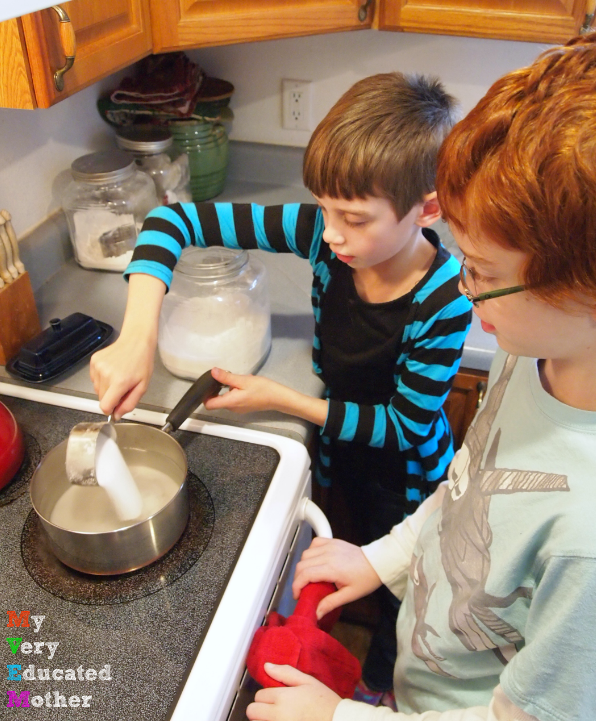 Making your own sodas is a great chance to get creative in the kitchen with your kids!