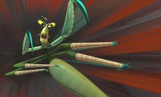 Master Mantis from Kng Fu Panda
