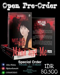 Buku Novel Karya Keza Felice Milna and Me