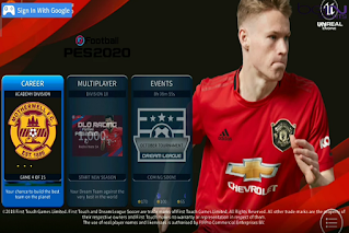 Download Game Android DLS 2020 MOD E - FOOTBALL PES 2020 HD