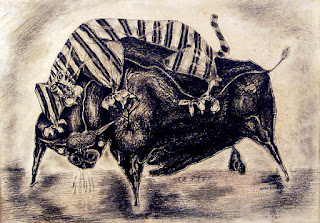 'Tiger and Bull' by Alton S. Tobey.