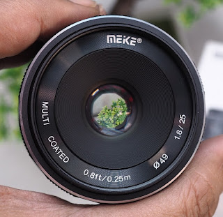 Lensa Meike 25mm f1.8 for Fujifilm