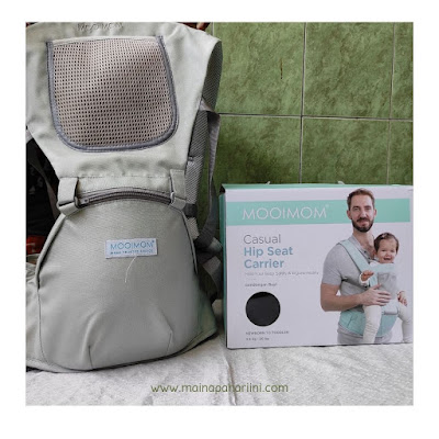 review hipseat casual MOOIMOM