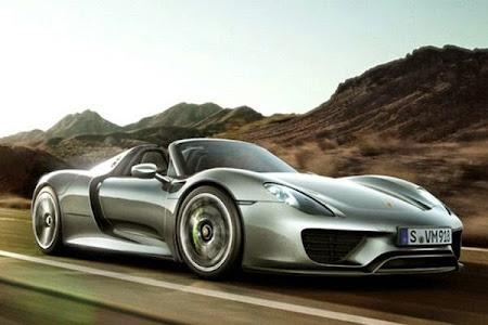 Porsche 918 Spyder hybrid sports car