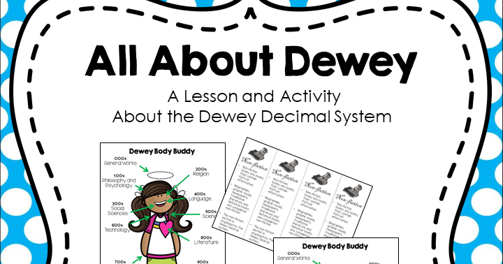 photo about Dewey Decimal System Printable Bookmarks named The Guide Bug: QR Code Dewey Hunt