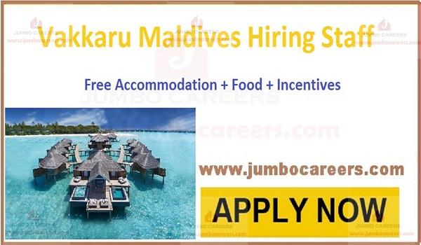 Current Vacancies in Maldives,