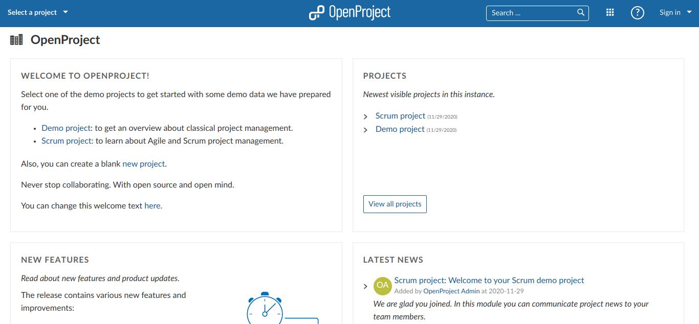 Cara Pasang OpenProject di Ubuntu 20.04 LTS dengan Web Server EngineX