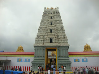 Prati Balaji Temple - front view