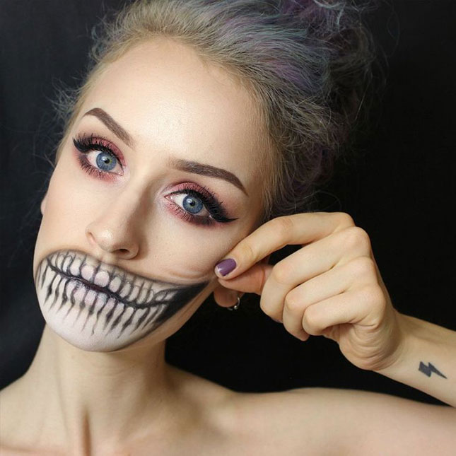 Scary Halloween Makeup Ideas 2016 For Women, Clown, Guys - Happy Halloween Day