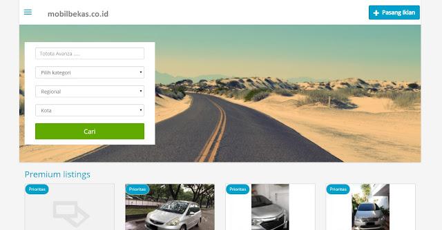 Situs Jual Beli Mobil Bekas