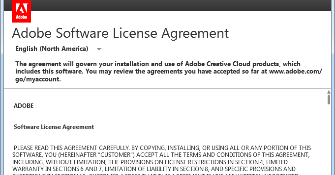 Robotfranciscos Blog How To Remove Adobe Cc License Agreement Popup