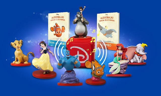 Audiobajki Disneya - nowa kolekcja DeAgostini w przedsprzedaży z prezentem