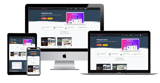 Sadik Theme Store Blogger Responsibe Template