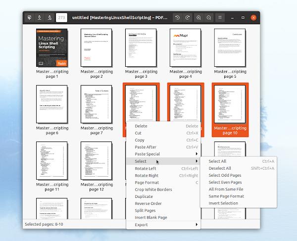 PDF Arranger Linux