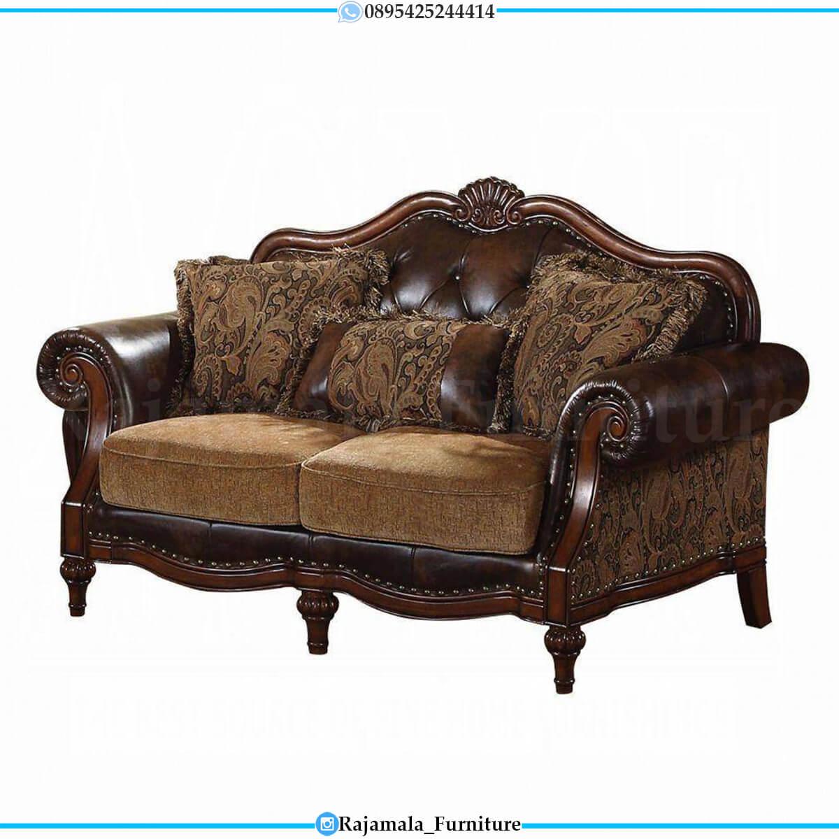 Sofa Tamu Mewah Jepara Luxury Carving Excellent Color RM-0733