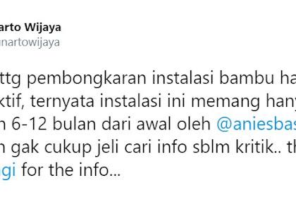Nyinyir ke Anies, Yunarto Ngaku Tak Cermat