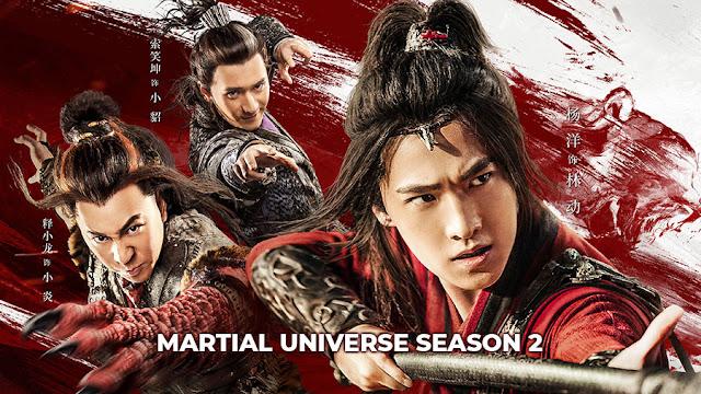 Download Drama Cina Martial Universe Season 2 Batch Subtitle Indonesia