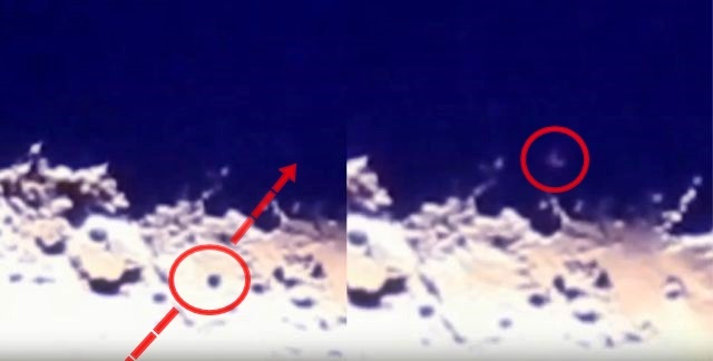 UFO News ~ UFO crosses Moon plus MORE UFO%2BMoon