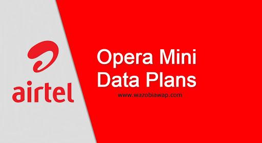 airtel opera mini data plans