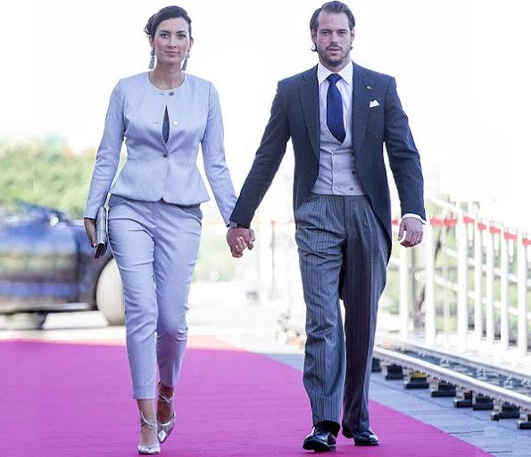 Grand Ducal Palace of Luxembourg. Prince Felix, Princess Claire and Princess Amalia, Princess Amalia Gabriela Maria Teresa