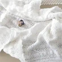Manta Espuma a Crochet