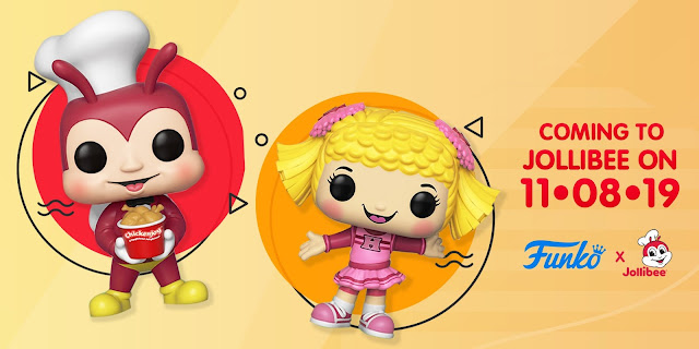 Funko Pop Jollibee and Hetty Spaghetti 2-Pack Release Date