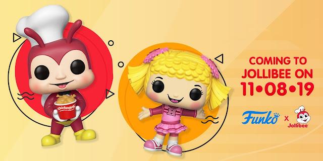 Funko Pop Jollibee and Hetty Spaghetti 2-Pack Release Date