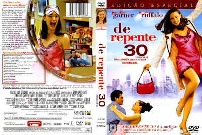 Filme De repente 30 (13 Going on 30) DVD Capa