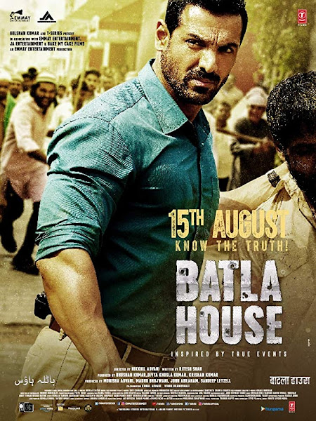 Batla House 2019 Hindi 720p Pre-DVDRip 700MB New Print Free Download