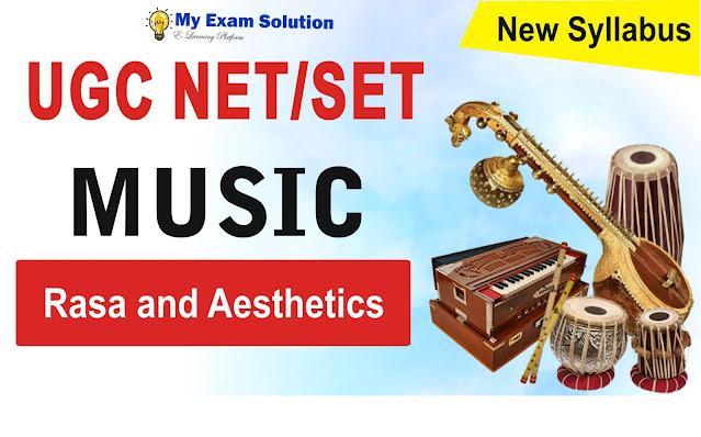 Rasa and Aesthetics for UGC NET