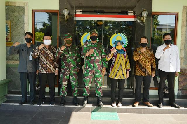Dandim 0723/Klaten Terima Kunjungan dari KPUD Klaten