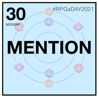 RPGaDAY2021 Day 30
