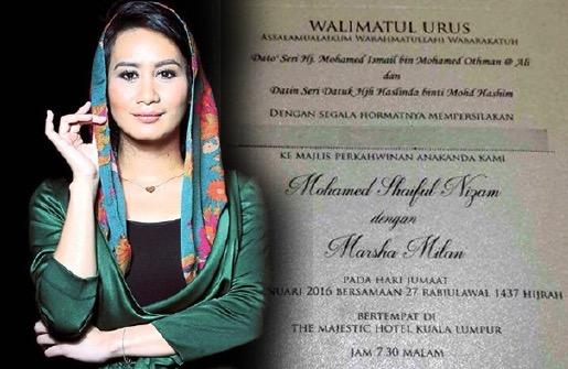Marsha Milan Londoh akan berkahwin, sah peluk Islam