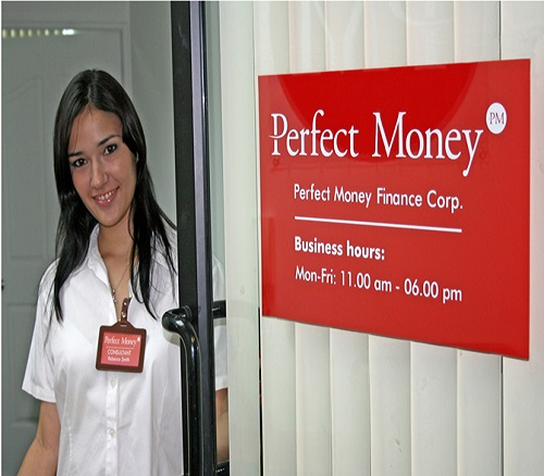 how to create perfect money account