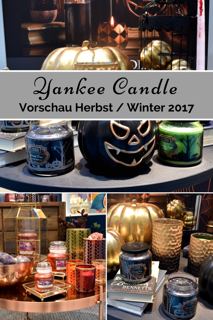 Yankee Candle - Herbst - Winter - Halloween 2017