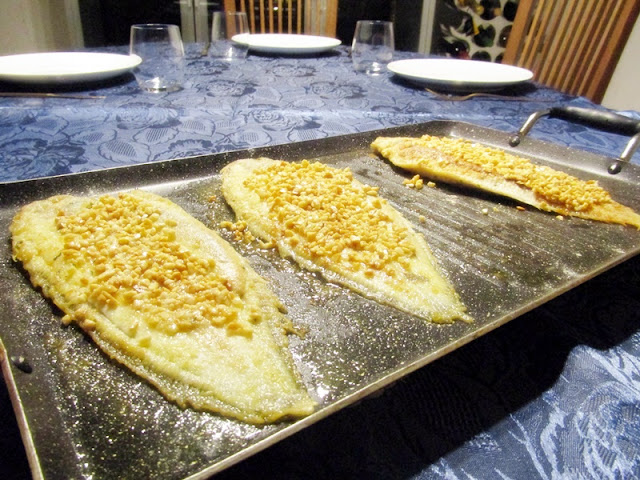Cucinare il pesce per i bambini con il burro