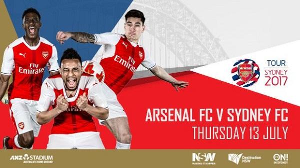 Sydney FC vs Arsenal
