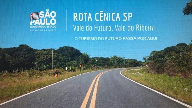 Secretaria Estadual de Turismo entrega projeto de rotas cênicas para o Vale do Ribeira