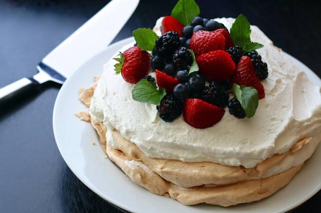 Story About Pavlova Cake as Light as a Cloud