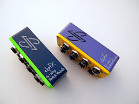 dpFX 4-way Jack Patch Module, stereo, isolated